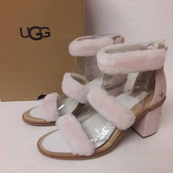 90bcd065c9b New UGG Del Rey Fluff heels Size 9 NWT